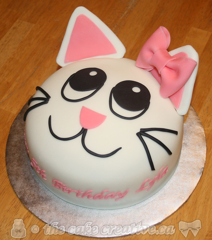 Easy Kitty Cat Cake