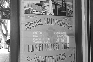 North Beach - Italian Homemade Company sign