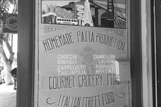 North Beach - Italian Homemade Company sign
