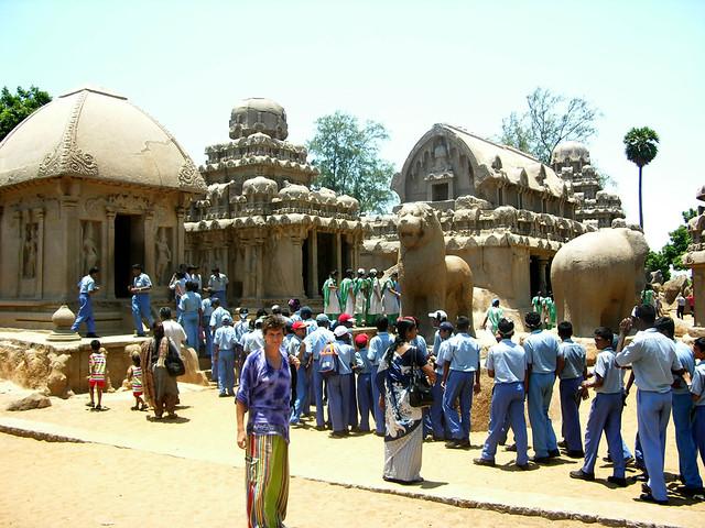 Rathas de Mamallapuram