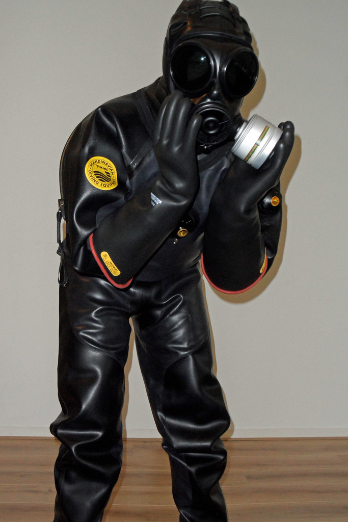 Viking Drysuit And Long Gloves Not To Forget Also An