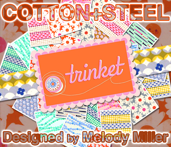 COTTON+STEEL Trinket Collection by Melody Miller