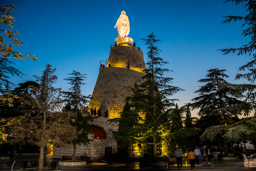 Our Lady Of Lebanon Harissa Lebanon My Interview On