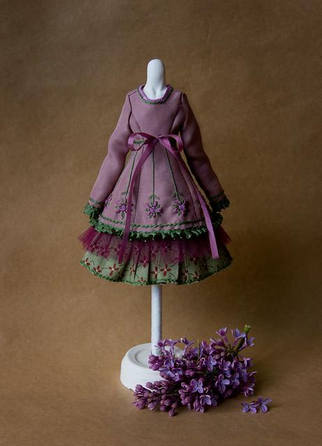 платье виолы