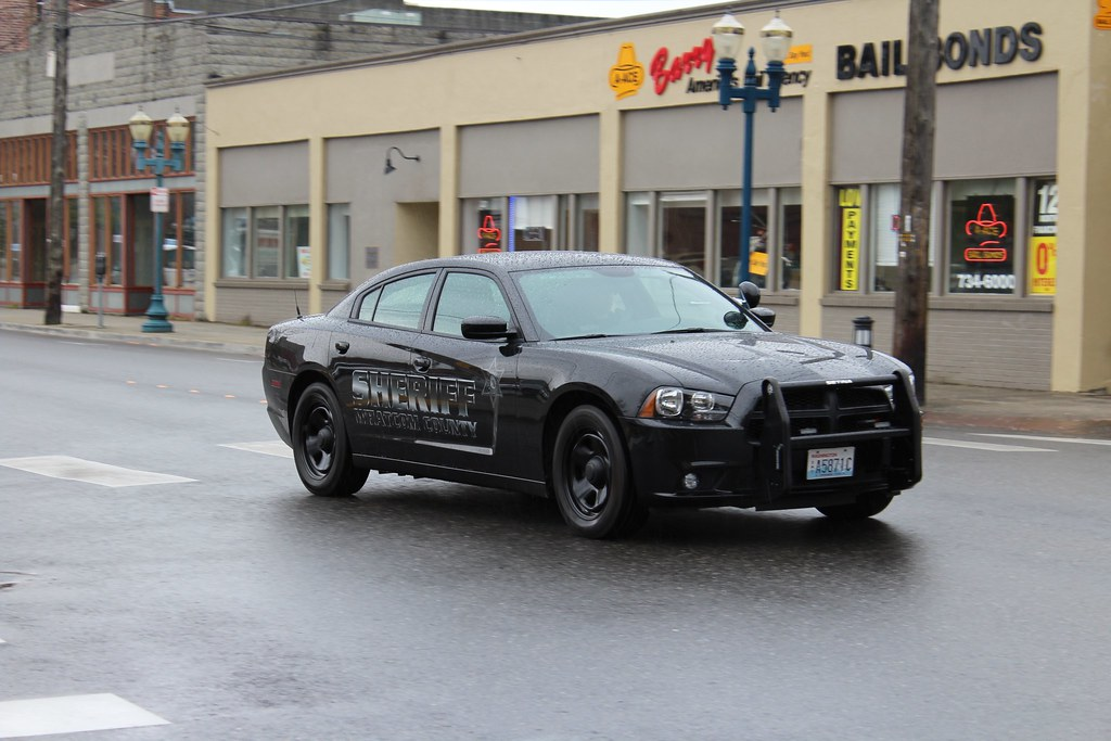 Whatcom County Sheriff S Office Stealth Dodge Charger