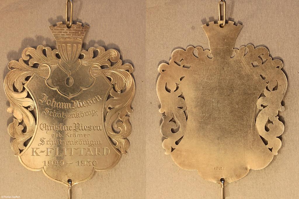 Koenigsschild Flittard von niesen johann aus dem Jahr 1929