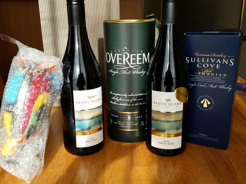 tasmanian wine and whisky
