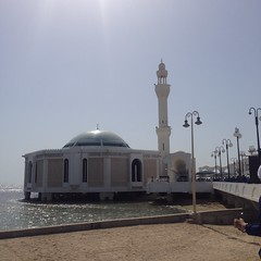 Get awed by the sight of Floating Mosque - Things to do in Jeddah