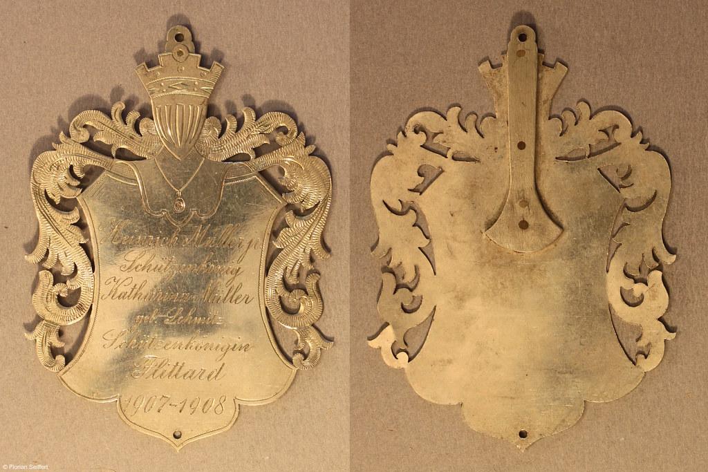 Koenigsschild Flittard von fuchs engelbert aus dem Jahr 1908