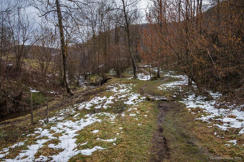 Camino a la Font de Sant Patllari junto al Ritortell