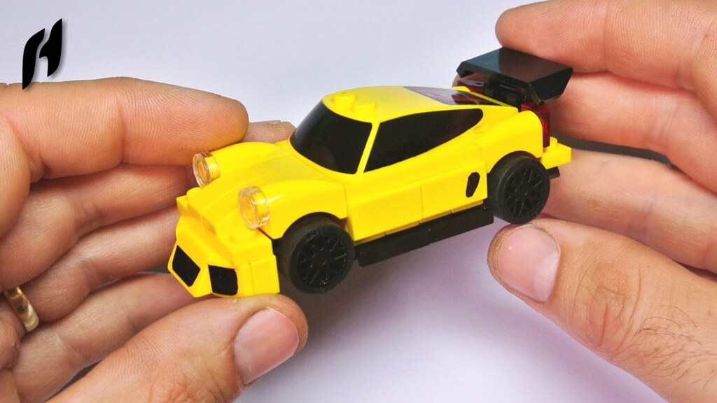 How To Build The Lego Porsche 911 Gt3 Rs Moc Youtu Be