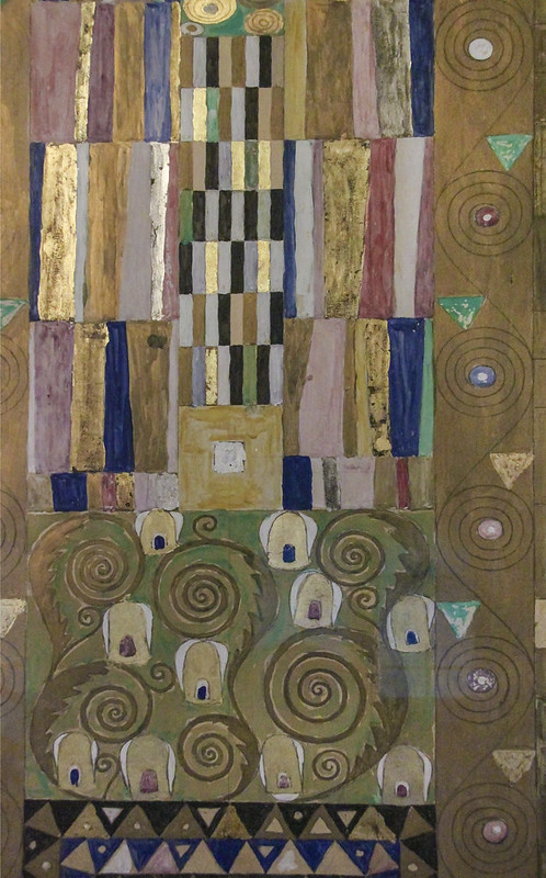 Gustav Klimt, Nine Drawings for the Execution of a Frieze for the Dining Room pf Stoclet House in Brussels, 1910-11