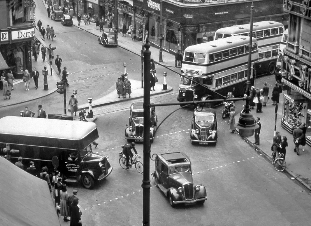 Corporation Street Birmingham Circa 1954 This View Is