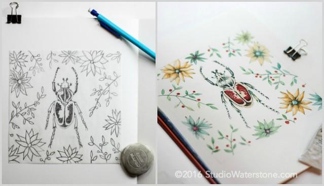 Sketch.Paint.Print #1 Parts 1 & 2