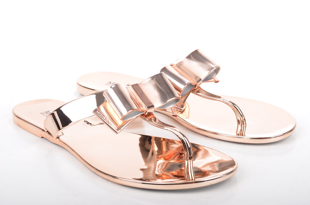 Michael Kors Rose Gold With Diamonds Watch
