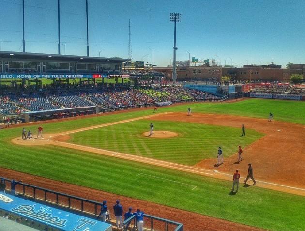 #TulsaDrillers #MinorLeague #Baseball #OneokField #Tulsa #Oklahoma #MyOklahoma