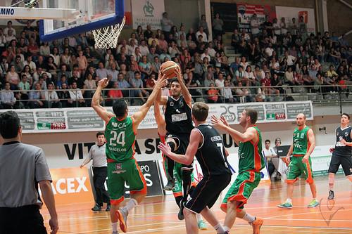 Basquetebol: Vitória SC 81 - 74 Basket Barcelos