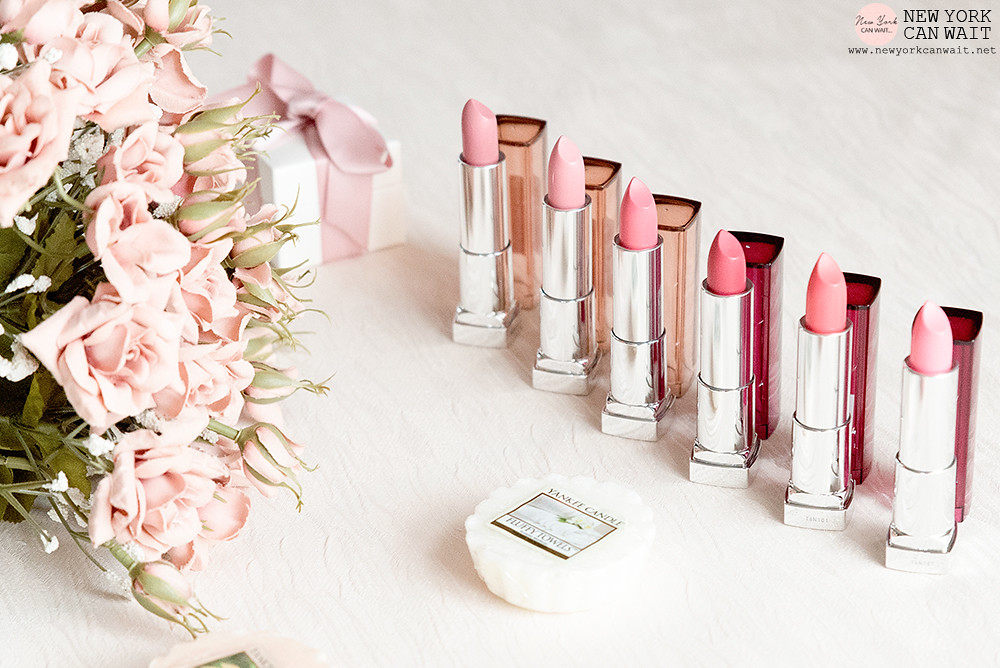 Maybelline: The Blushed Nudes - Color Sensational.