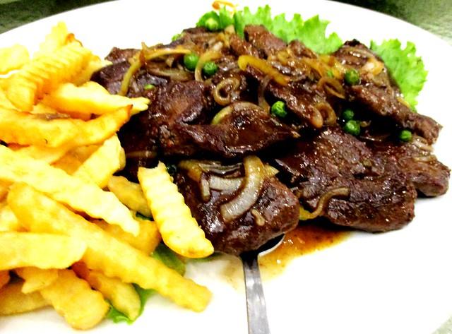 Sarawak Club Chinese beef steaks