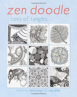 Zen doodle book cover photo