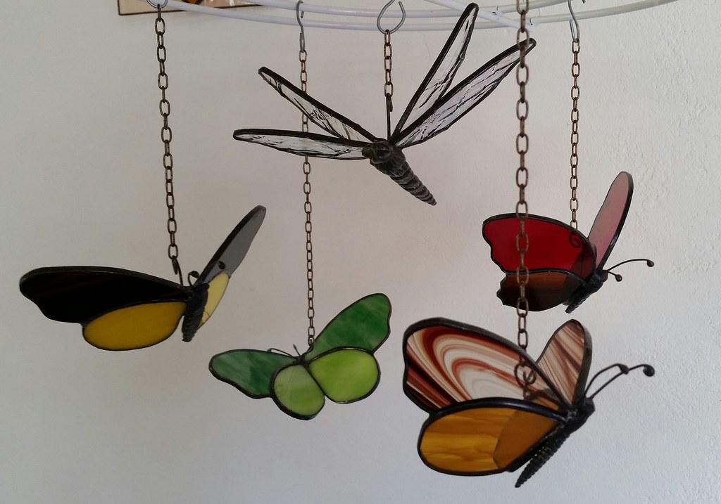 tiffany vlinders tiffany glas decoraties in lood anneke weesjes brummer flickr. Black Bedroom Furniture Sets. Home Design Ideas