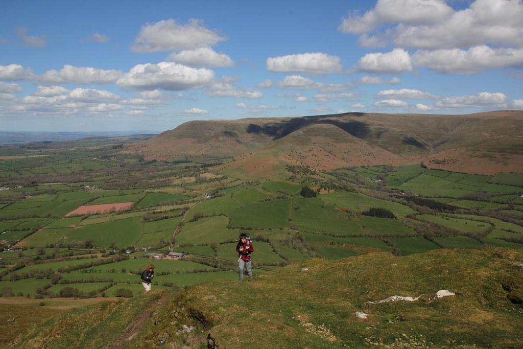 black mountains, brecon beacons, pengenffordd, mynydd troed, wye valley