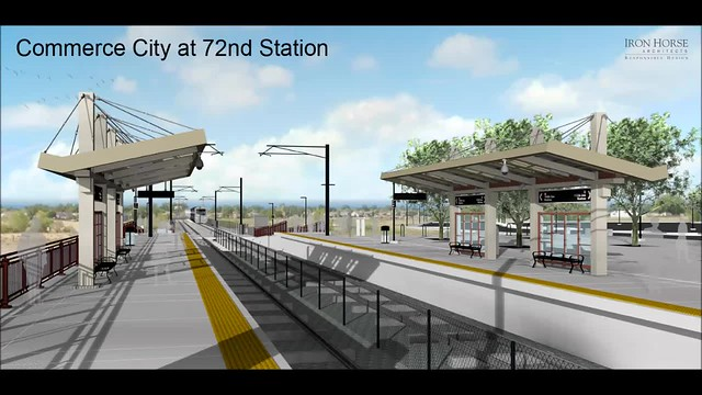 Commerce City-72nd Station Rendered