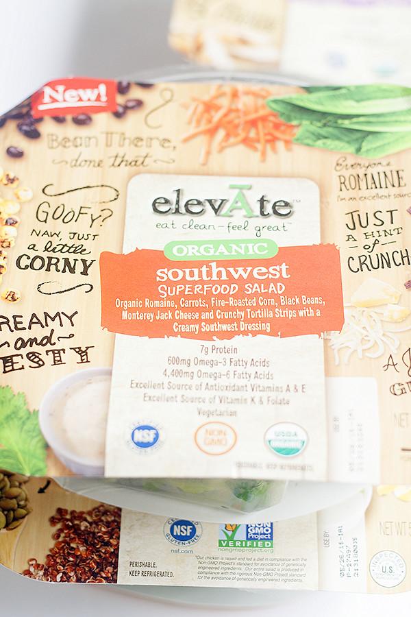 southwest salad #elevatesuperfoods #ad @elevAte_foods