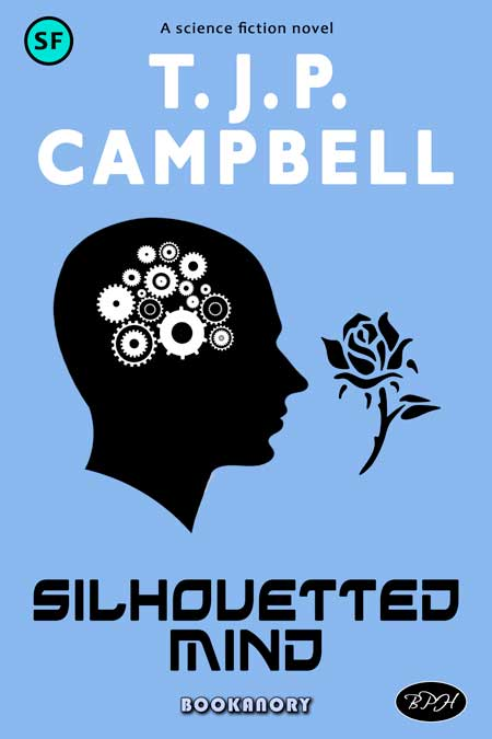 Silhouetted themed bookanory book cover