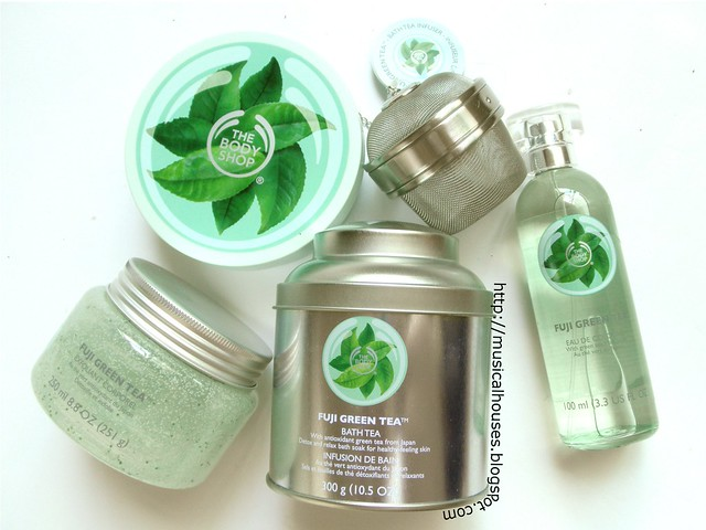 The Body Shop Fuji Green Tea Collection 2