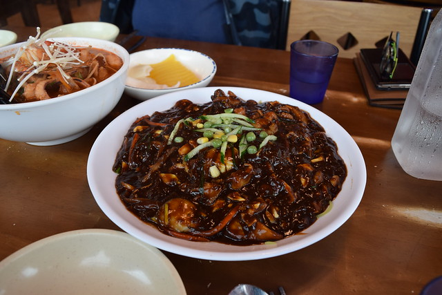 Noodles in Blackbean Sauce 짜장면