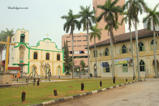 Melaka Malaysia St Peters Church