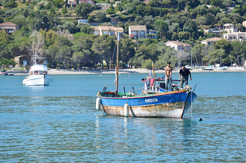 Fishermen, Saint Florent, Corsica