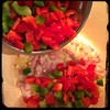 #homemade #Primavera #CucinaDelloZio - red & green peppers