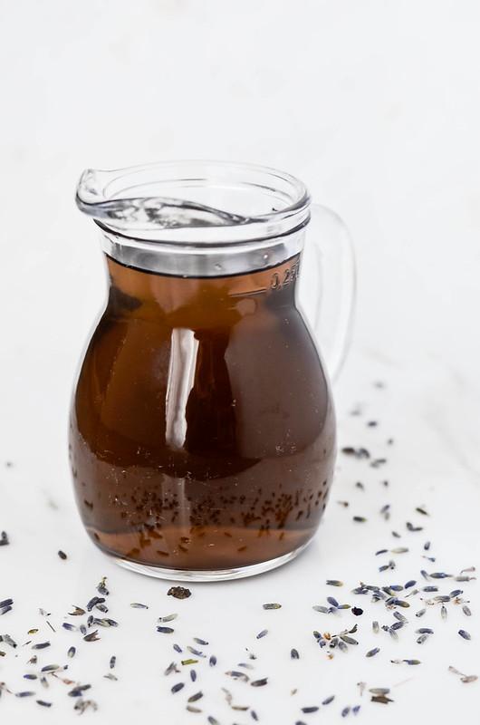 DIY Lavender Syrup | cookingalamel.com