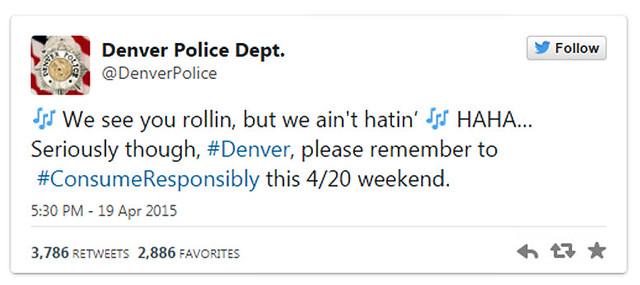 Rising Smoke and idiotic tweets for Pampered 4/20 Denver Pot idiots