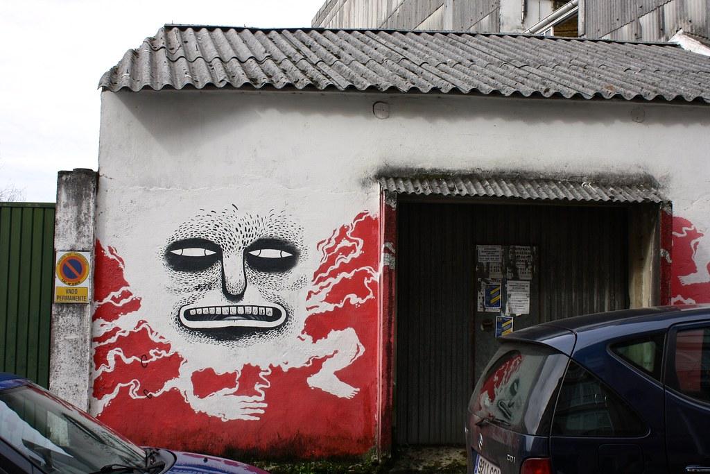 Street art, Ordes, Spain