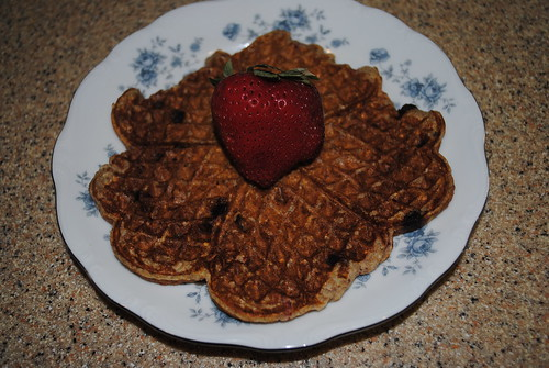 Strawberry Chocolate Chip Banana Waffles (6)