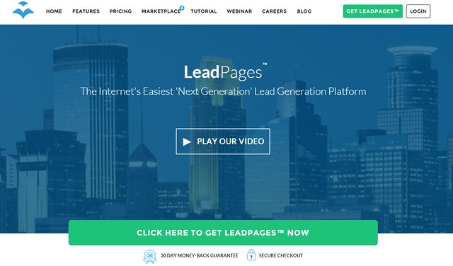 LeadPages™ software - mobile responsive landing page generator