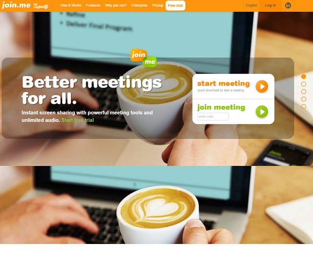 join.me Free Screen Sharing, Online Meetings Web Conferencing