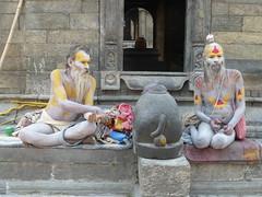 Die heiligen Männer von Pashupathinath