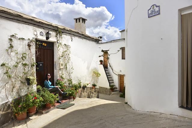 Alpujarra de Granada y sus calles encaladas