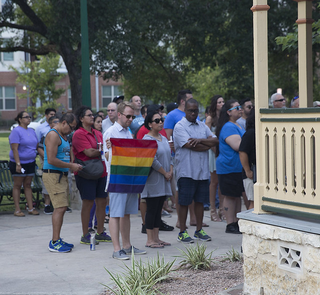 Orlando Mass Shooting Vigil (June 12, 2016)