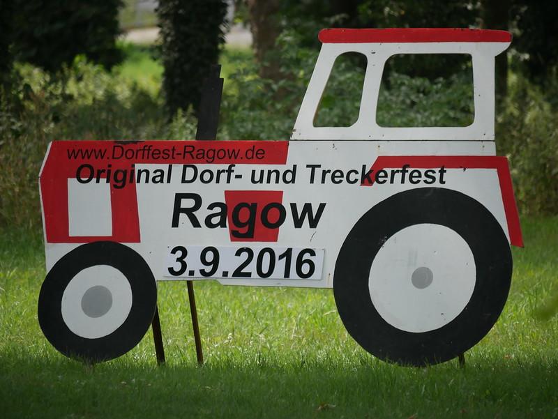 Dorf- und Treckerfest in Ragow am 3.9.2016