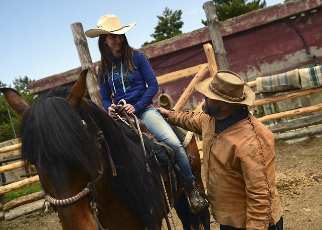 Paseos a caballo en las alpujarras de Granada