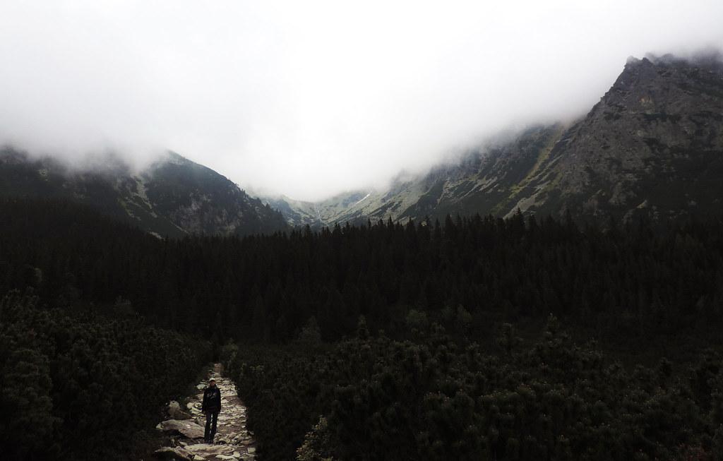 Hike to Popradske pleso, High Tatras, Slovakia