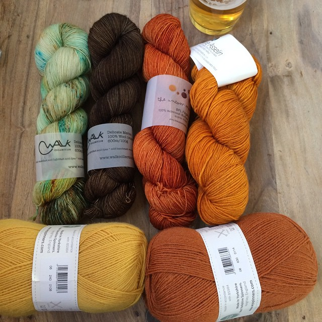 My new #yarn friends 😍
