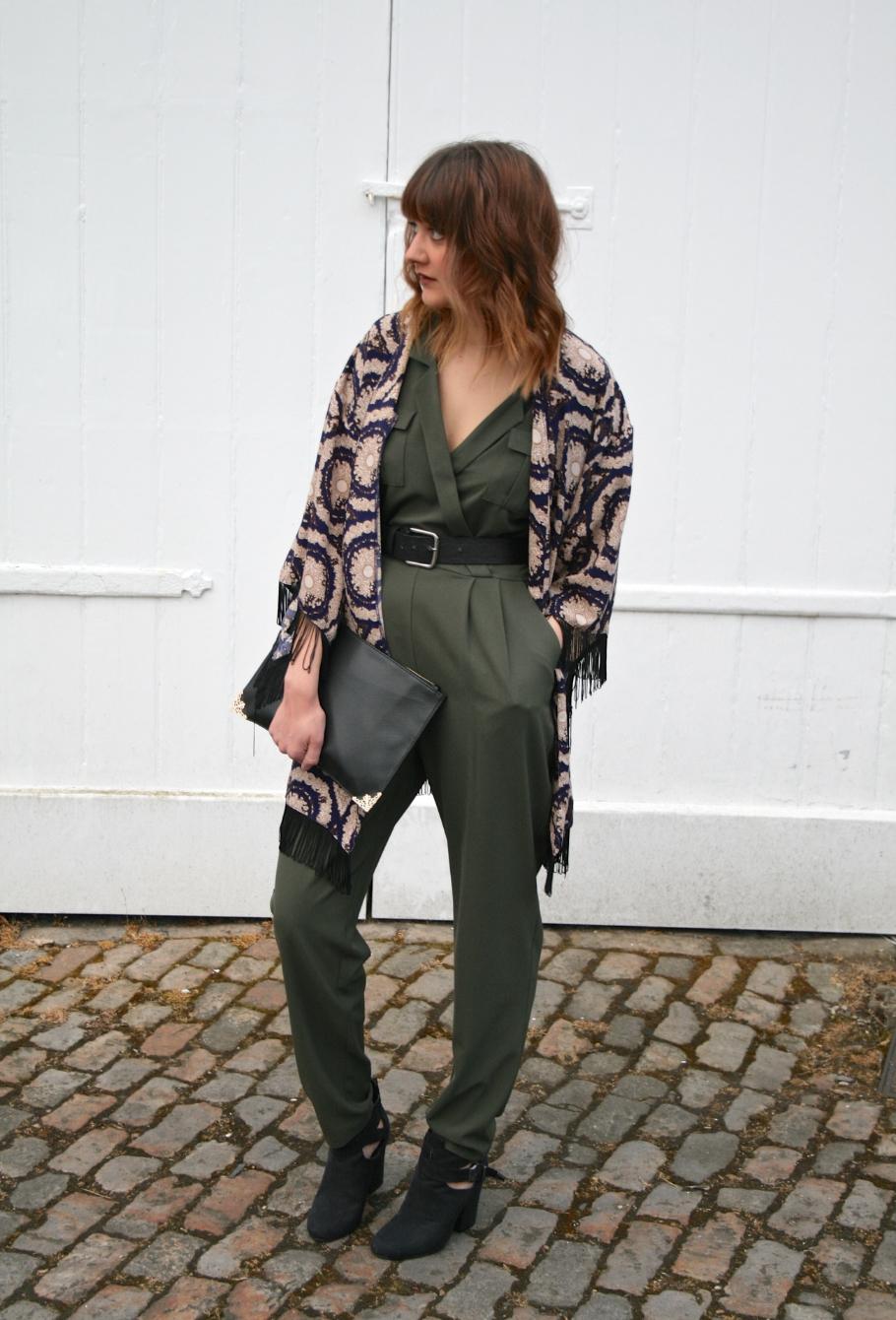 utility style jumpsuit