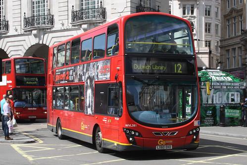 London Central WVL381 LX60DXO