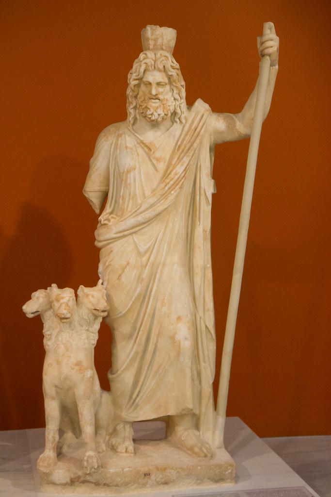 hades and cerberus  heraklion archaeological museum  crete u2026